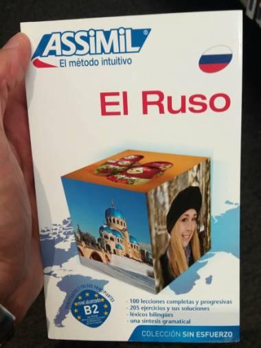 El Ruso Sin Esfuerzo, Assimil (pack con CD audio y MP3). Assimil ruso es mucho mejor que Duolingo, Babbel, Tandem, Italki y demás.