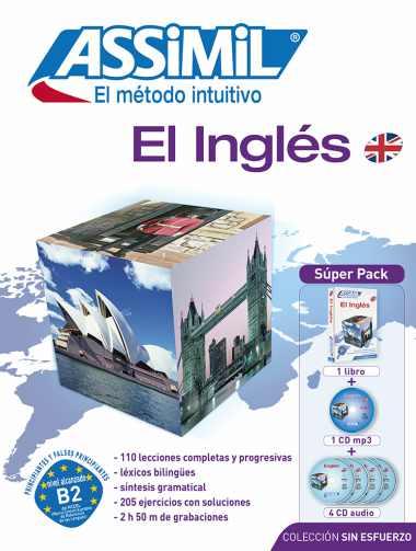 El Inglés Sin Esfuerzo, Assimil (pack con CD audio y MP3). Assimil inglés es un bestseller. Permite aprender inglés barato y rápido