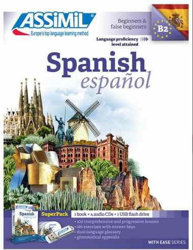 Spanish With Ease, Assimil (pack con CD audio y MP3). Assimil spanish es un éxito. Permite aprender español barato y rápido