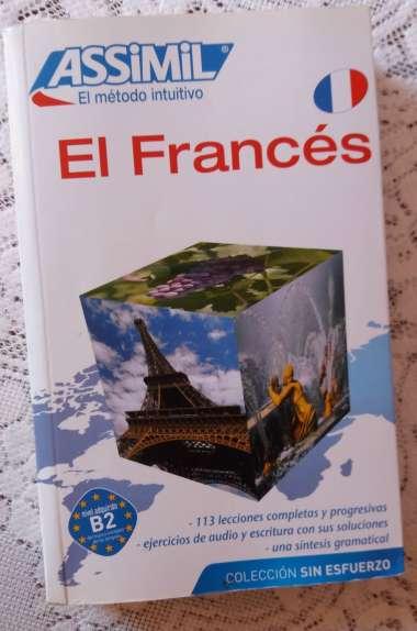 El Francés Sin Esfuerzo, Assimil (pack con CD audio y MP3). Genial para ir desde A1 a B2 y luego pasar al Francés Perfeccionamiento. Recensiones muy positivas.