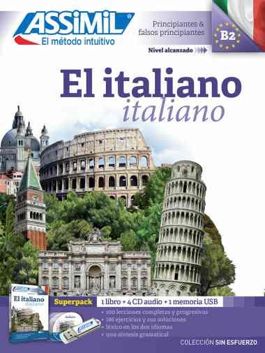 El Italiano Sin Esfuerzo, Assimil (pack con CD audio y MP3). Assimil italiano tiene recensiones positivas. Permite aprender italiano barato y rápido