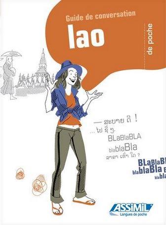 Assimil Lao De Poche. La colección de Bolsillo comprende: Assimil inglés, francés, catalán, árabe marroquí, bretón, esperanto, árabe libanés.