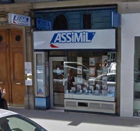 La sede principal de Assimil, además de tienda, en París. Aprender idiomas aquí dentro es un sueño de muchos.