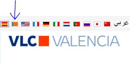 Il valenciano sul sito ufficiale del turismo del Comune di València: si parla valenciano qui.