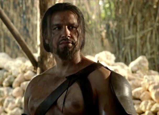 Imparare il dothraki: Guerriero dothraki nella tipica tenuta.