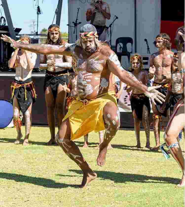 Danza aborigen Noongar
