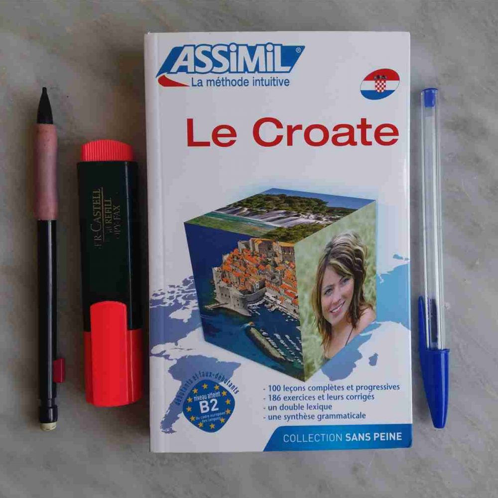 Il Croato Senza Sforzo Assimil copertina, Imparare il croato
