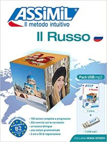 Il Russo Assimil libro e USB mp3