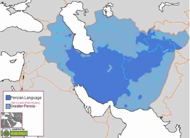 Imparare il persiano: diffusione del persiano