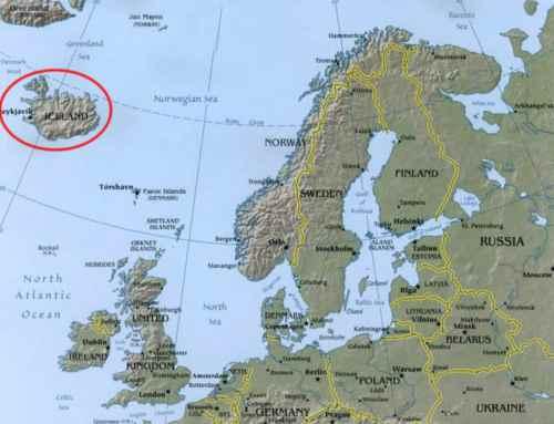 Imparare l'islandese: la mappa