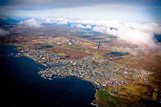 Idioma islandés: Keflavik