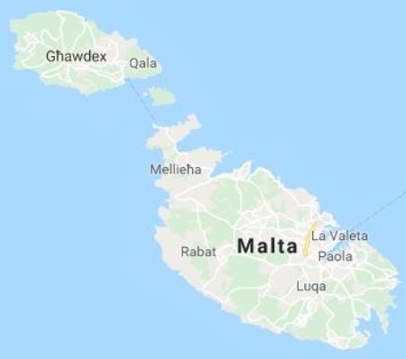 Aprender maltés: las islas
