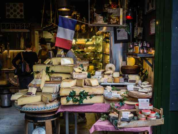 Intermediate French: cheeses