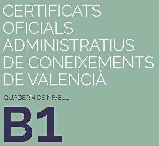 B1 di Valenciano: portada