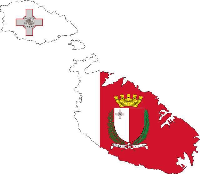 Aprender maltés: bandera