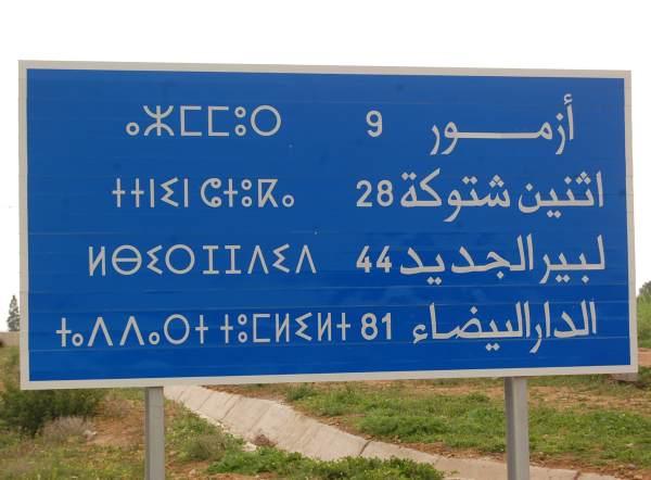 Lingue minori: berbero