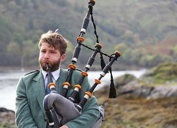 Lengua Escocesa: gaita