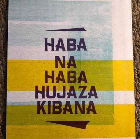 Idiomas menores: swahili proverbio