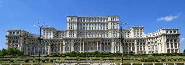 Lingua romena: palazzo del governo