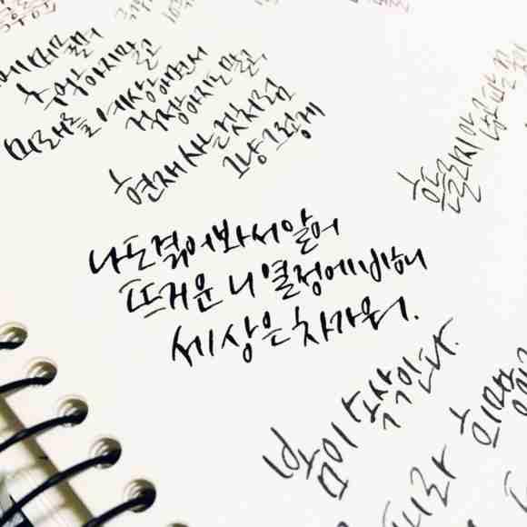 Alfabeto hangul coreano
