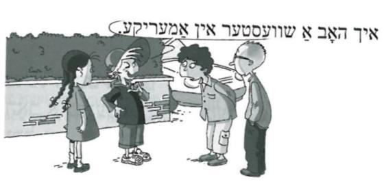 Assimil Yiddish senza sforzo, lezione
