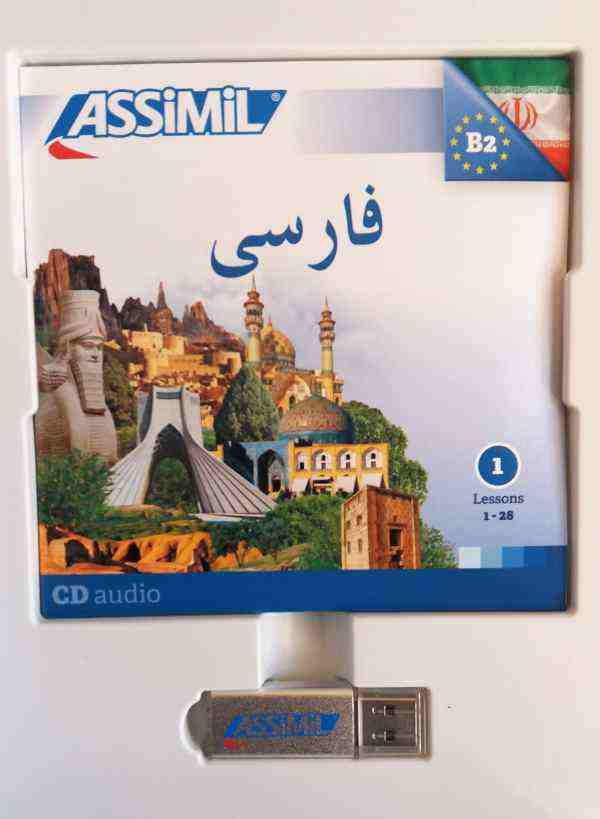 Assimil persa cd pendrive mp3