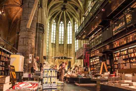 Boekhandel Dominicanen de Maastricht.
