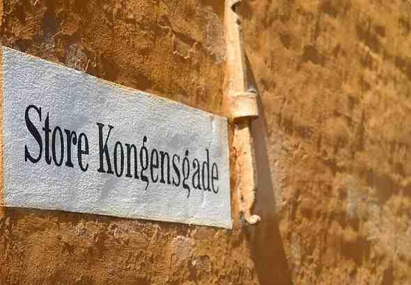 Imparare il danese: strada