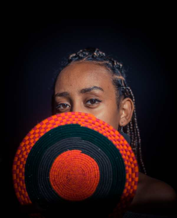 Imparare l'amharico: modella etiope