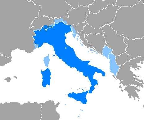 Dónde se habla italiano