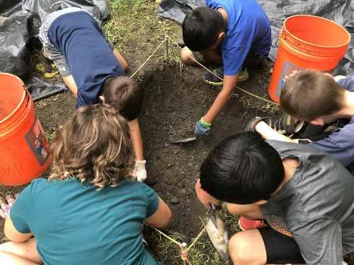 Estudiar anglosajón: campamento arqueológico