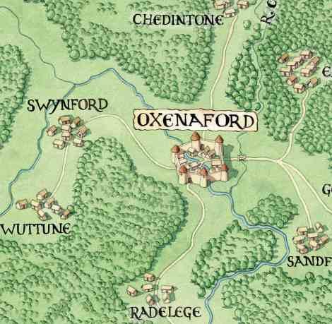 Oxenaford. Estudiar anglosajón para comprender topónimos.