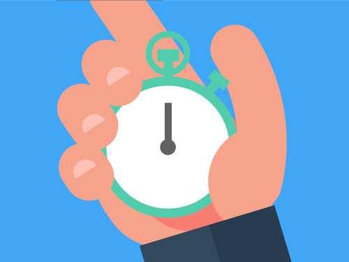 Controlar los tiempos del examen