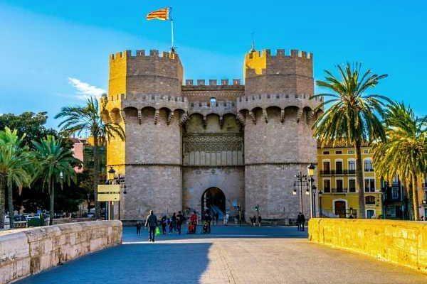 Serranos Towers in Valencia