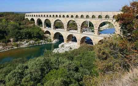 Gard acueducto romano