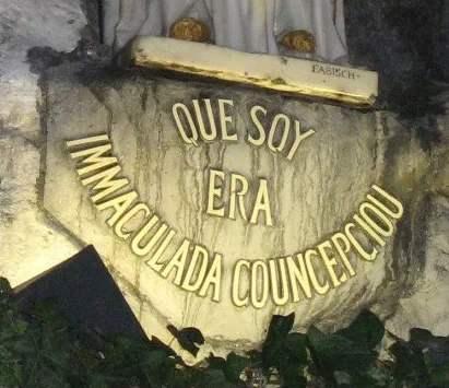 Inmaculada Concepcion Lourdes