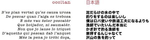 Aprender occitano para traducir al japones