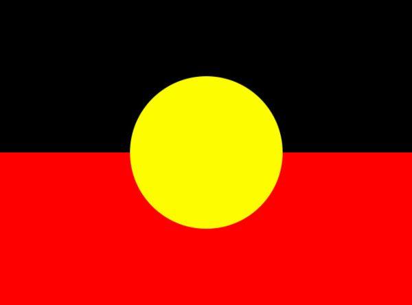 Noongar bandiera aborigeni