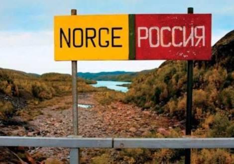 Frontera Noruega Rusia, terreno de russenorsk