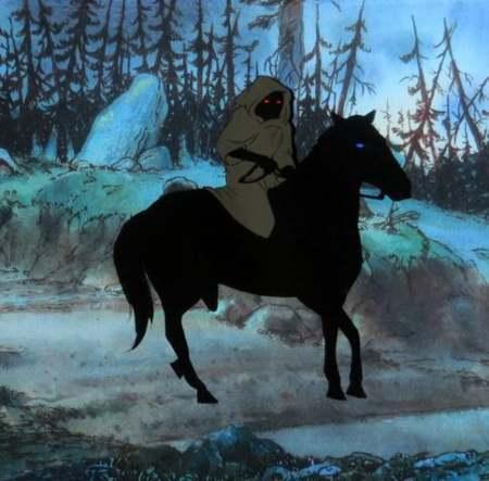Nazgûl nel film di Bakshi: parlano la Lingua Nera anche loro