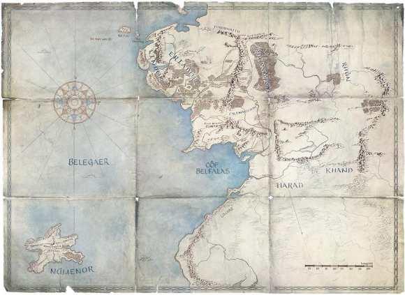 Mappa della Terra Media