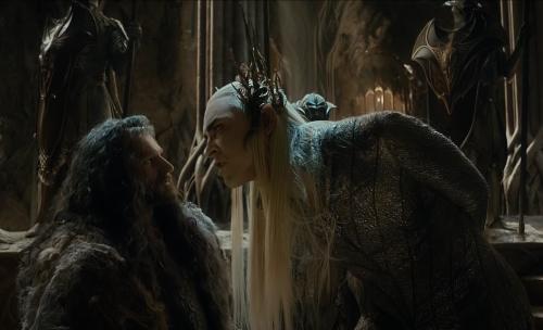 Thranduil y Thorin