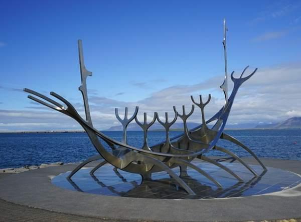 Iceland monument