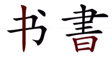 Simplified and Traditional Chinese